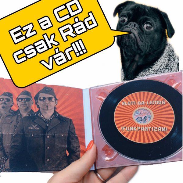 Alem da Lemda - Funkpartizan ALBUM - CD